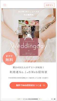 WEDDING DAY サービスTOP